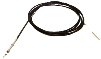 Heater cable - right 1700-2.0L 8/72-79 LHD (4225mm) 211-711-630N
