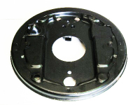 Rear Backing Plate, Top Quality, Left 8/70-79.   211-609-425L
