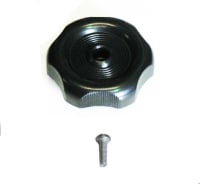 Louvred Window Winder Knob, Black 68-79.   231-845-901B