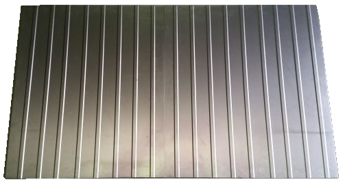 Rear Shelf Repair, in 2 pieces. 55-67.   211-813-243B