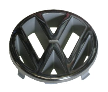 Front Badge Genuine VW 125mm 85->.   251-853-601