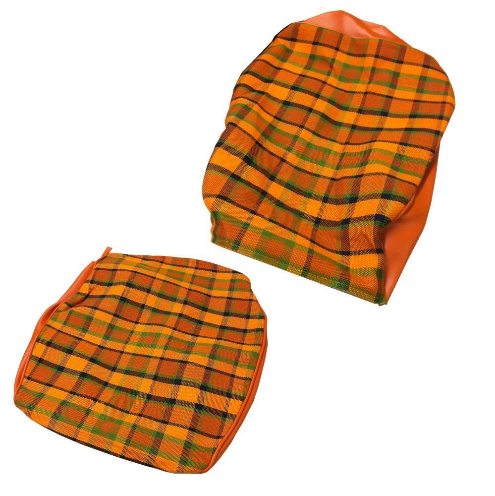 Westfalia Seat Cover Set, Orange (1 Seat) 74-79. 211-881-002WOR