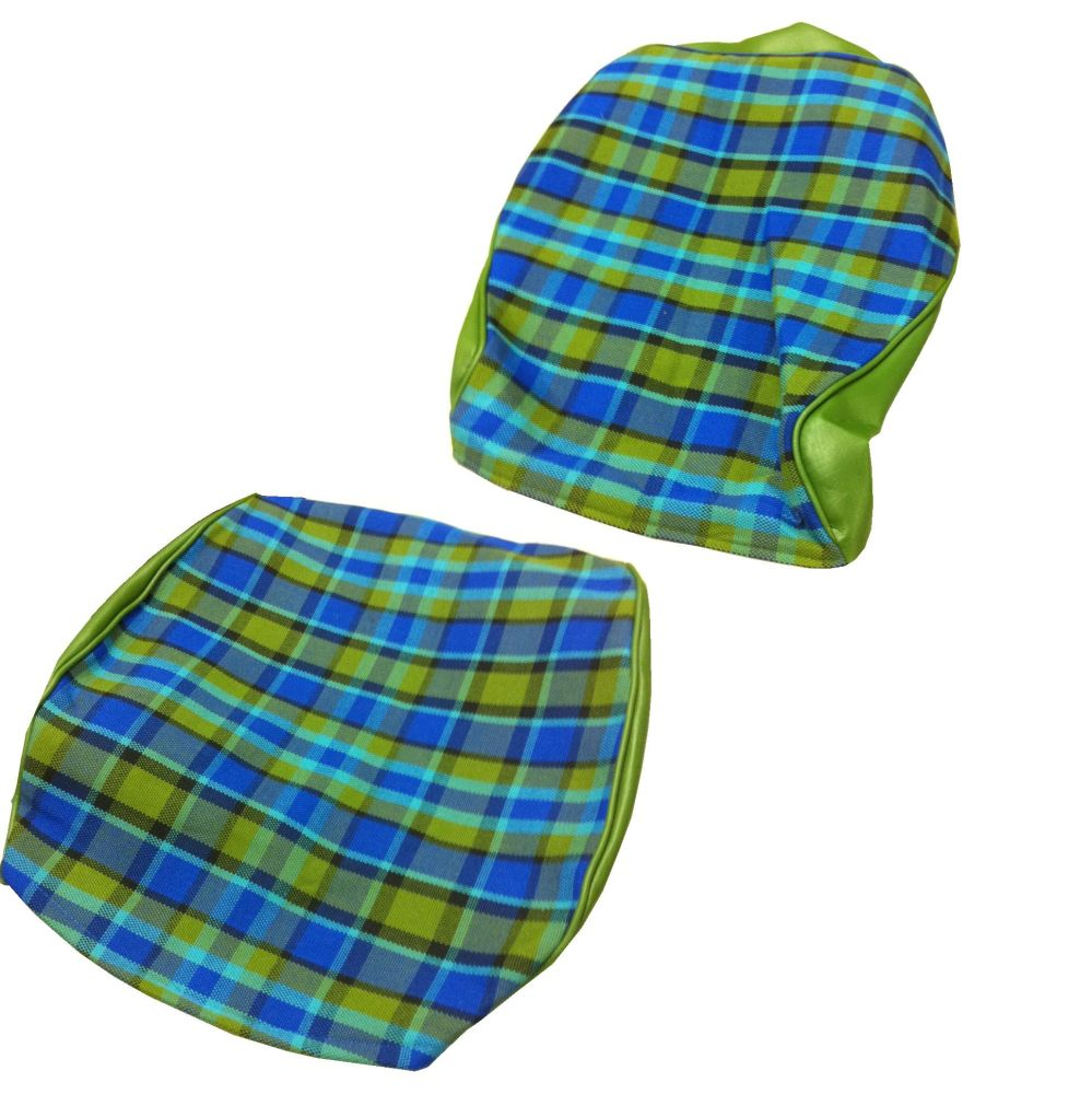 Westfalia Seat Cover Set, Blue (1 Seat) 74-79. 211-881-002WBL