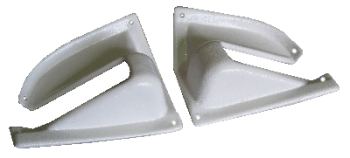 Tailgate Hinge Covers (Pair) 68-79.   211-867-529B