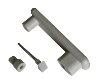 Cupboard Door Handle, Light Grey 68-92.   231-070-965G