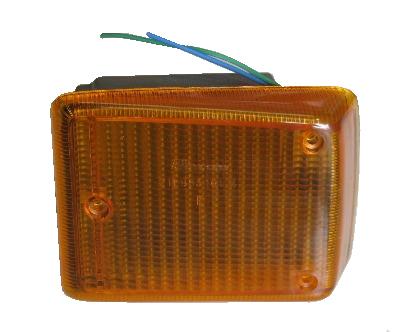 Front Indicator Complete, Orange Lens, Left 72-79.   211-953-161A