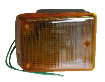 Front Indicator Complete, Orange Lens, Right 72-79.   211-953-162A