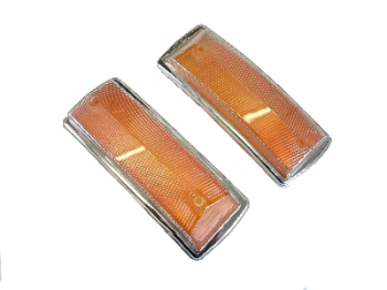 Front Indicator Lens Best Quality (Pair) 68-72.   211-953-141JBQ