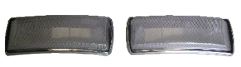 Front Indicator Lens BQ (Pair) Clear 68-72.   211-953-142CBQ