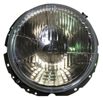 Headlight, Repro H4 74-79.   114-941-753HR