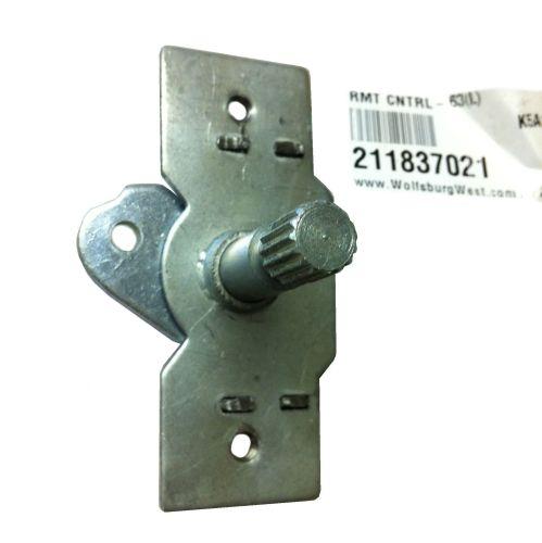 Front Door Release Mechanism ->64, Left.   211-837-021