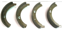 Front Brake Shoes 55-63, Top Quality.   211-609-237BBQ