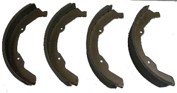 Front Brake Shoes 63-70, Top Quality German.   211-609-237DBQ