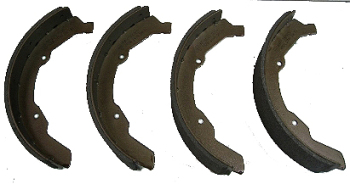 Front Brake Shoes 63-70, Top Quality.   211-609-237DBQ