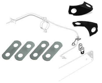 Brake Pipe Lock Plate Kit 50-67.   211-598-600
