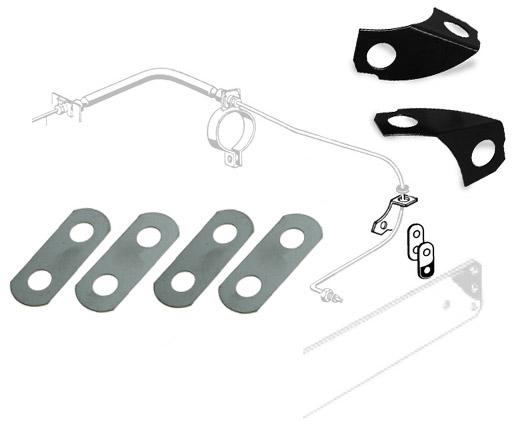 Brake Pipe Lock Plate Kit 50-67.   211-598-600