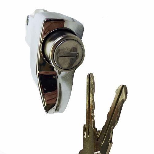 Engine Lid Lock, Chrome 68-71.   211-827-503DR