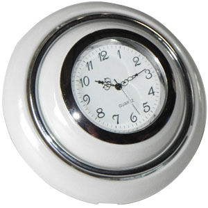 Horn Push, Grey with Clock 55-67.   211-951-301IGC