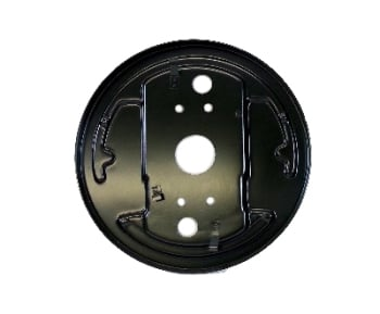 Backing Plate, Front Right, Top Quality 8/63-7/67.   211-609-140B
