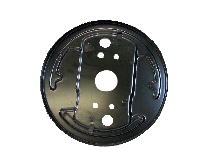 Backing Plate, Front Left, Top Quality 8/63-7/67.  211-609-139B