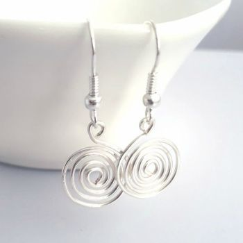 Single Spiral Earrings