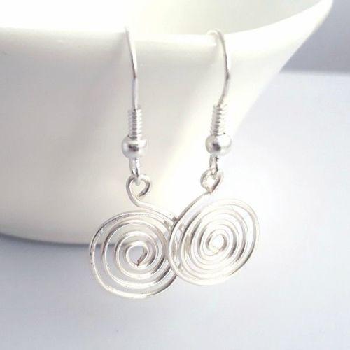 Single Spiral Earrings