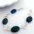 Azurite spiral bracelet 5