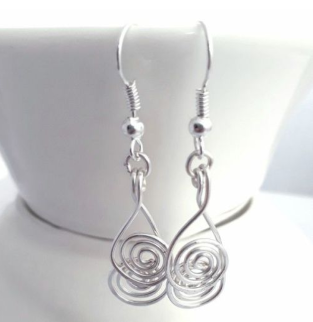 cross over spiral earrings 5