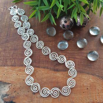 Large Celtic Spiral Necklace