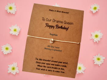 To Our Little Drama Queen - Happy Birthday