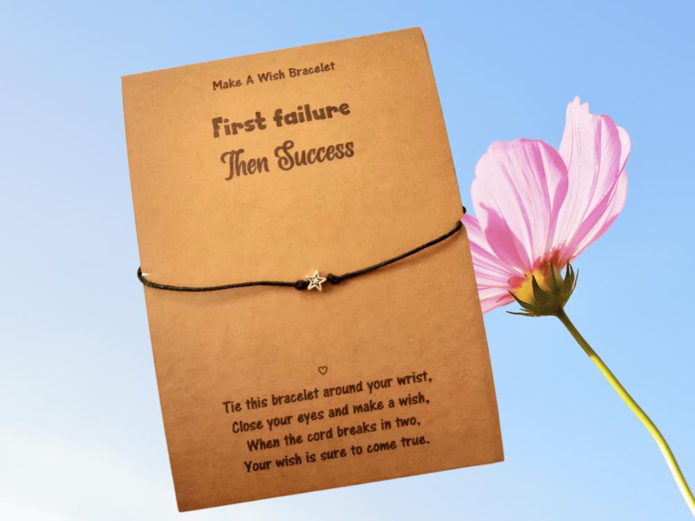 First Failure Then Success