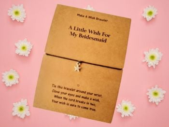A Little Wish For My Bridesmaid