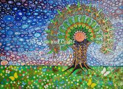 Tree 4 Peacock Tree