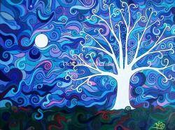 Tree 10 Full Moon