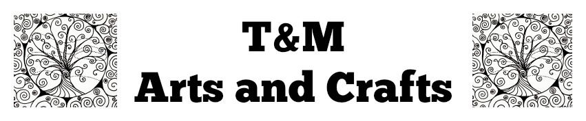 T & M Arts & Crafts , site logo.