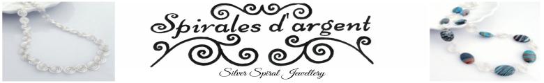 Spirales d'argent, site logo.