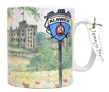 Mugs & Coasters-Alnwick Castle - Sign