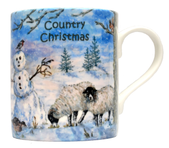 Mugs & Coasters-Country Christmas