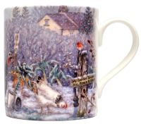 Mugs & Coasters-Christmas at the Allotment