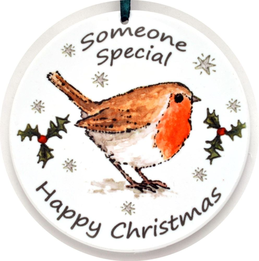 Bauble - Brother- Robin