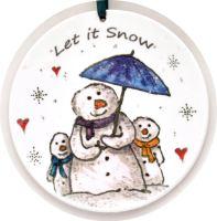 Bauble - Let it Snow