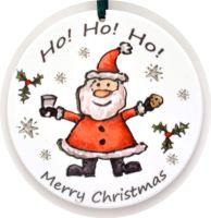 Bauble - Santa