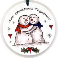 Bauble - Big Snowy Cuddles
