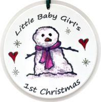 Bauble - Snow Girl