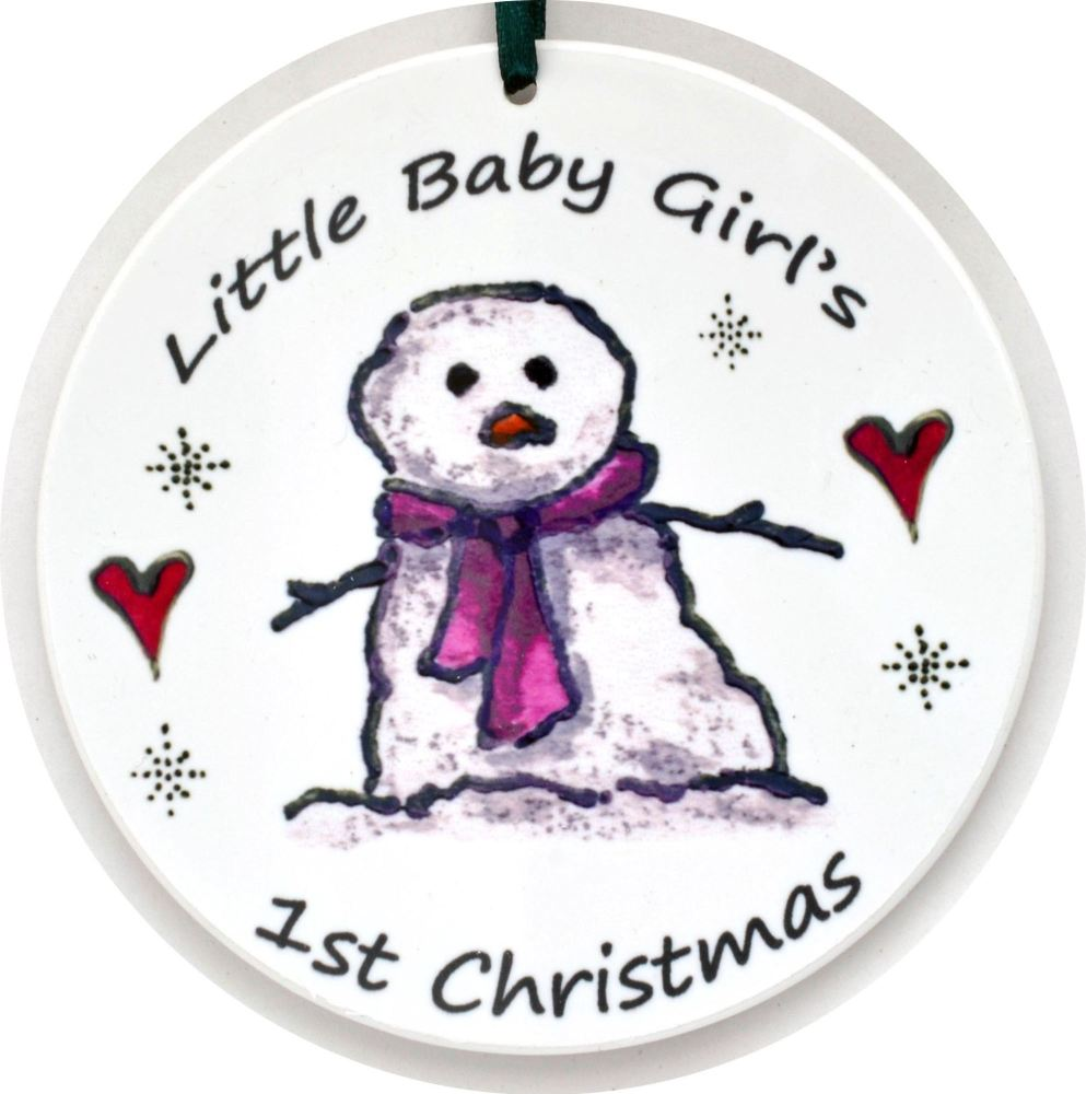 Bauble - 1st Christmas Crib