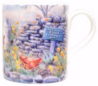 Mugs & Coasters-Hens & Milkchurn