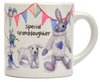 Child's Mug-Maypole Girl