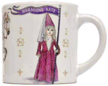 Child's Mug-Medieval Princess
