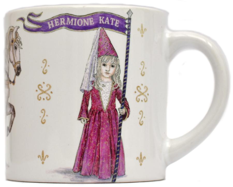 Childs Mug-Medieval Princess