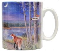 Mugs & Coasters-Night at the lake
